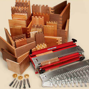 The MLCS Woodworking Master Joinery Set Holiday Sale.