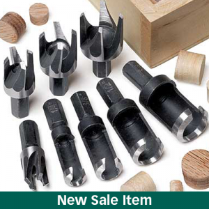 The MLCS Plug Cutter Set Holiday Sale.