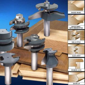 "The MLCS Woodworking Holiday Deals: Cabinetmaker ""Undercutter"" Set."