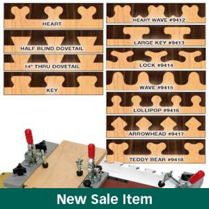 "The MLCS Woodworking Holiday Sale 11 ""Fast Joint"" Precision System Templates."
