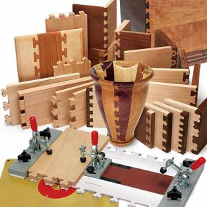 "The MLCS Woodworking Holiday Sale ""Fast Joint"" Precision Joinery System."