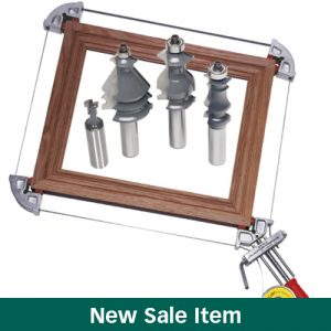 The MLCS Woodworking Holiday Deals: Merle Clamp Picture Frame Package.