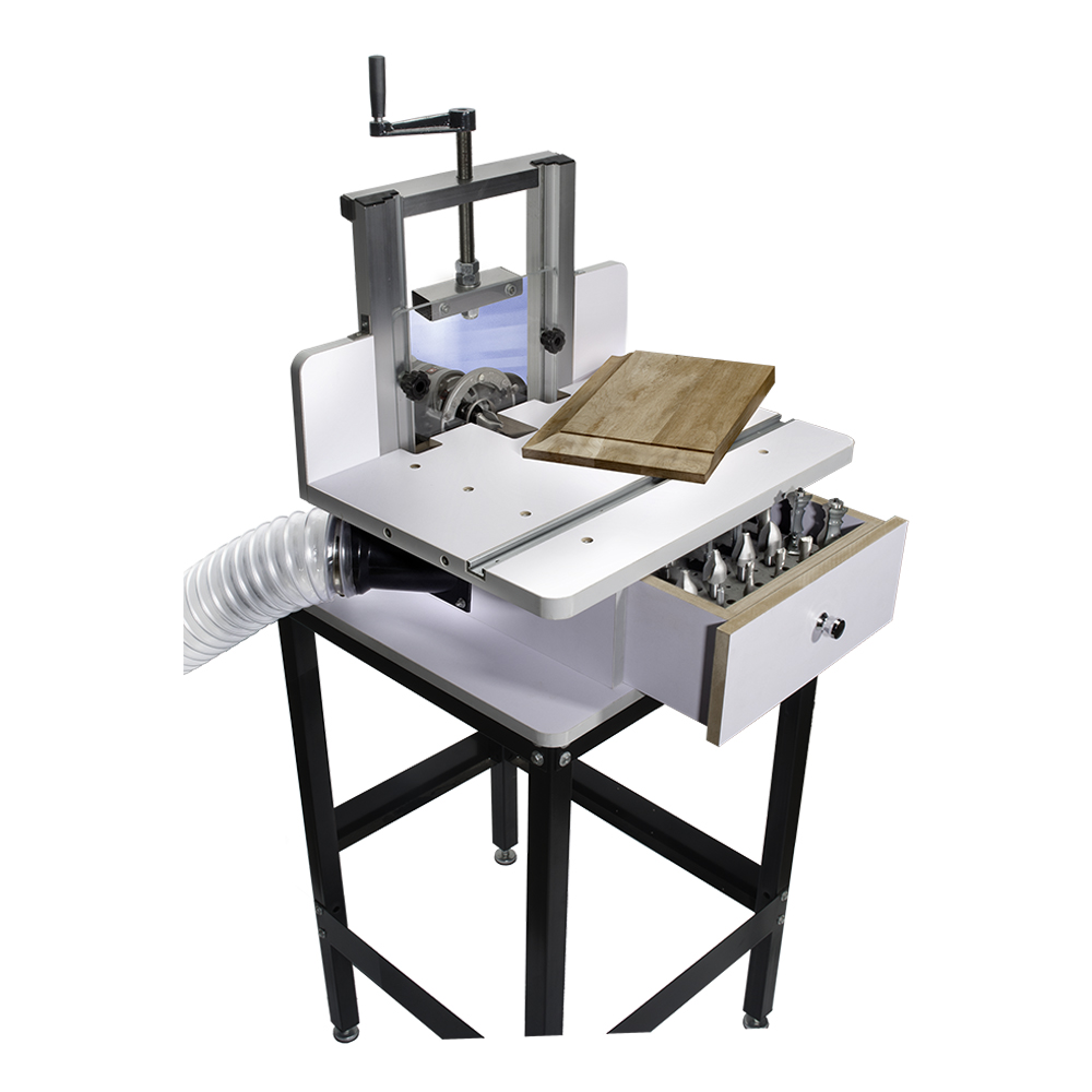 Ultimate horizontal router table package details for Best horizontal router table