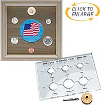 Coin Template Set