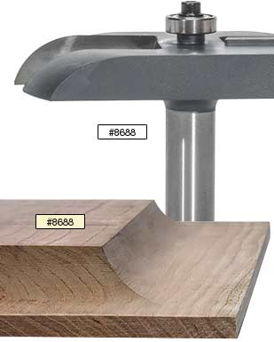 MLCS Raised Panel Carbide Tipped Router Bits 1