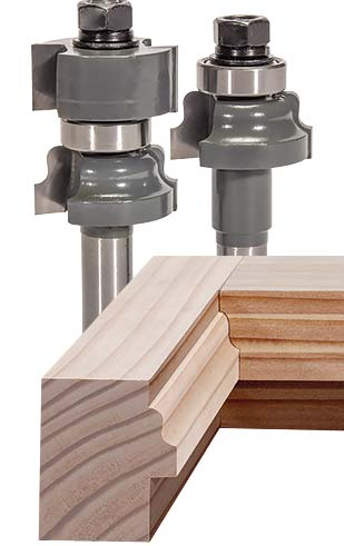 Mlcs Rail And Stile Carbide Tipped Router Bits 2