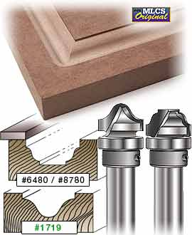 Mlcs Raised Panel Carbide Tipped Router Bits 2