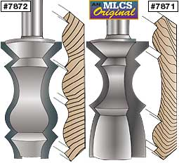 Multi-Molding Crown Router Bits