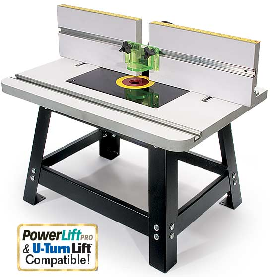Rock Solid And Portable Benchtop Router Table