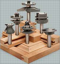 cabinet making router bit set