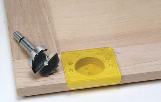 Concealed Hinge Boring Kit And Drawer Guide Installation Jig