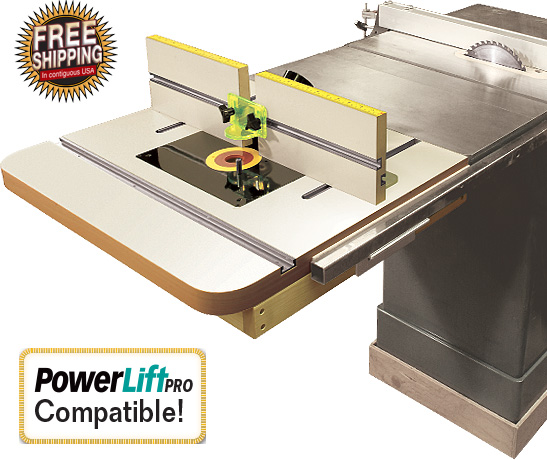 Table Saw Router Table Extension Plans Table Saw Router Extension