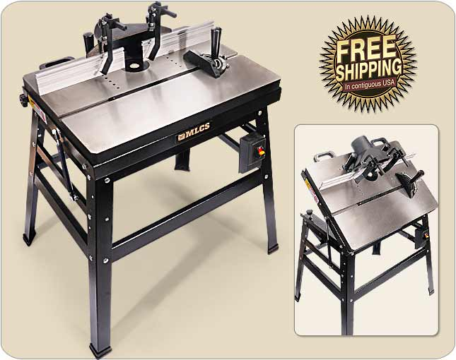 Mlcs heavyweight and precision router tables mlcs heavywight router table greentooth Gallery