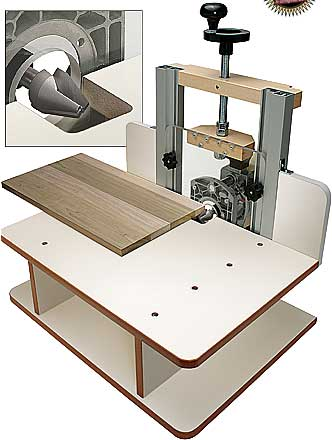 Horizontal router table for Html horizontal table