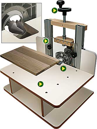 Horizontal router table design pdf woodworking for Html horizontal table