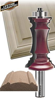 katana® mitered door frame router bit