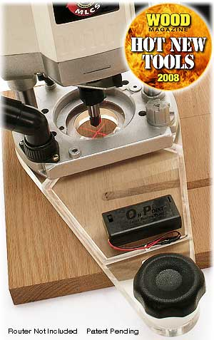 On-Point Universal Laser Guided Router Plate