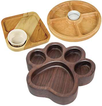 2 Section Bowl And Tray Template