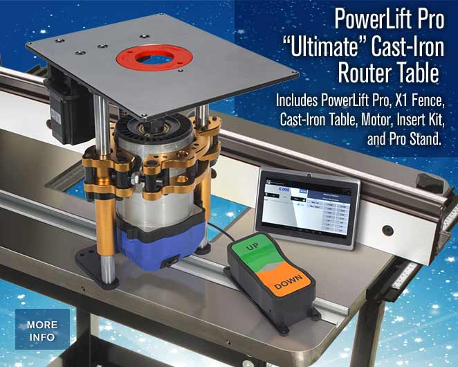 The ultimate powerlift pro router table package mlcs ultimate powerlift pro router table system keyboard keysfo Images