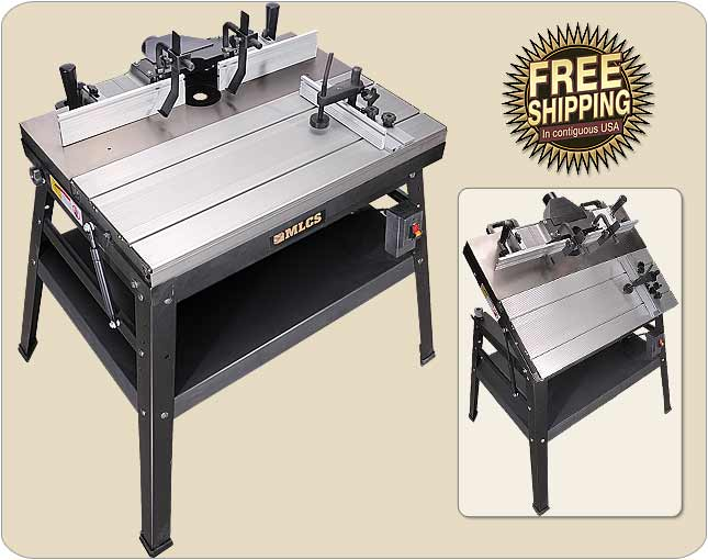 Mlcs heavyweight and precision router tables mlcs precision router table greentooth Gallery