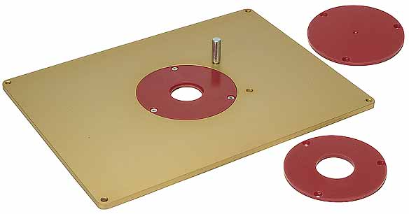 Router accessories 1 mlcs aluminum router plate greentooth Choice Image