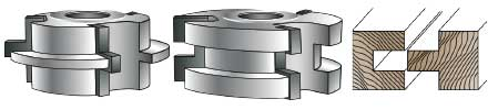 MLCS Shaper Cutters For Joinery and Edge Forming