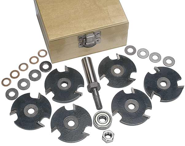 Whiteside slot cutter set