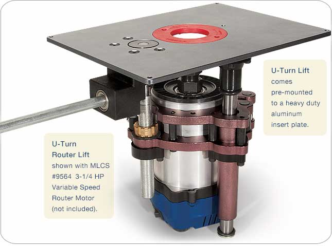 Mlcs u turn router lift greentooth