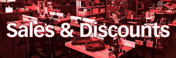 Woodworkers Showroom Special In-Store Event - Sales & Specials