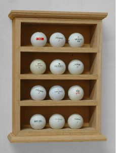 Golf Ball Display Rack Woodworking Plans Description