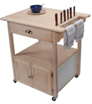 Rolling Kitchen Cart-Click to View Larger!