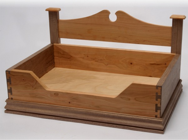 pdf diy plans wooden dog beds download simple folding step
