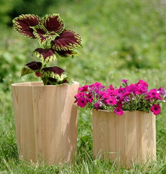 Cedar Planter with Multi-Sided Glue Joint Bits
