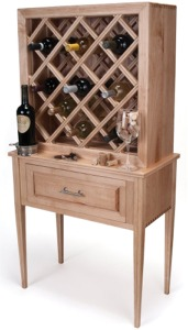 Stand-Alone Wine Rack